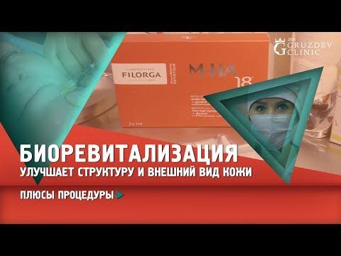 Биоревиталиция. Плюсы процедуры с Filorga M-HA 18