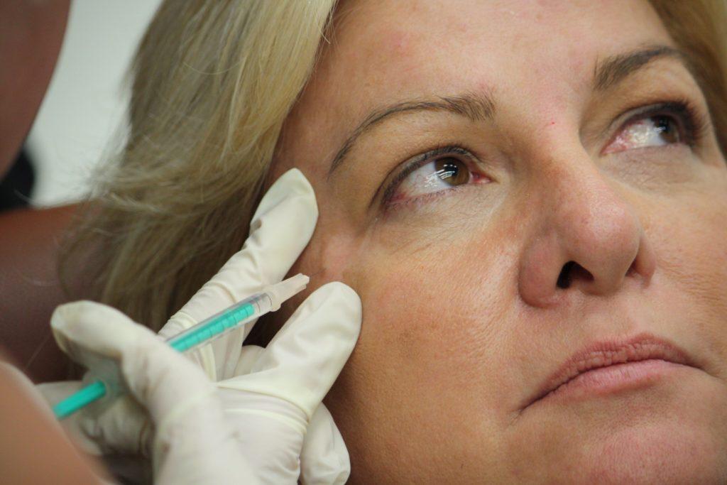 уколы ботокса в лицо