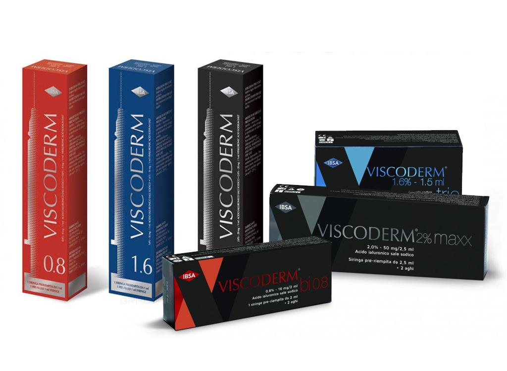 Viskoderm — линейка препаратов для биоревитализации