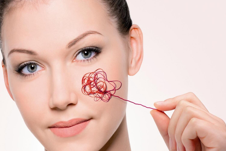 Правильный уход за кожей после лазерного удаления сосудов