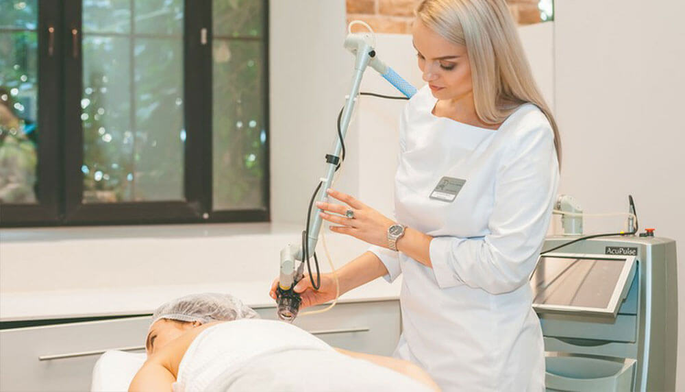 Лазерное лечение шрамов после травм