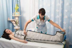 Прессотерапия процедура