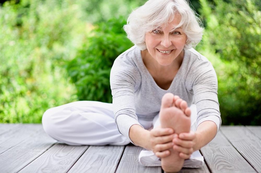 Йога для пожилых женщин