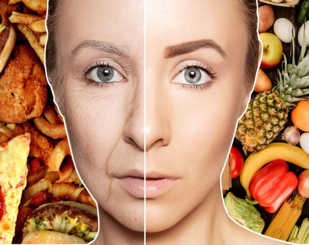Как еда влияет на кожу