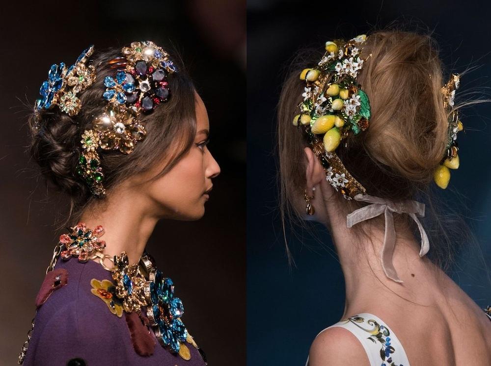 Модные аксессуары для волос 2021
