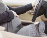 Можно ли водить беременным машину