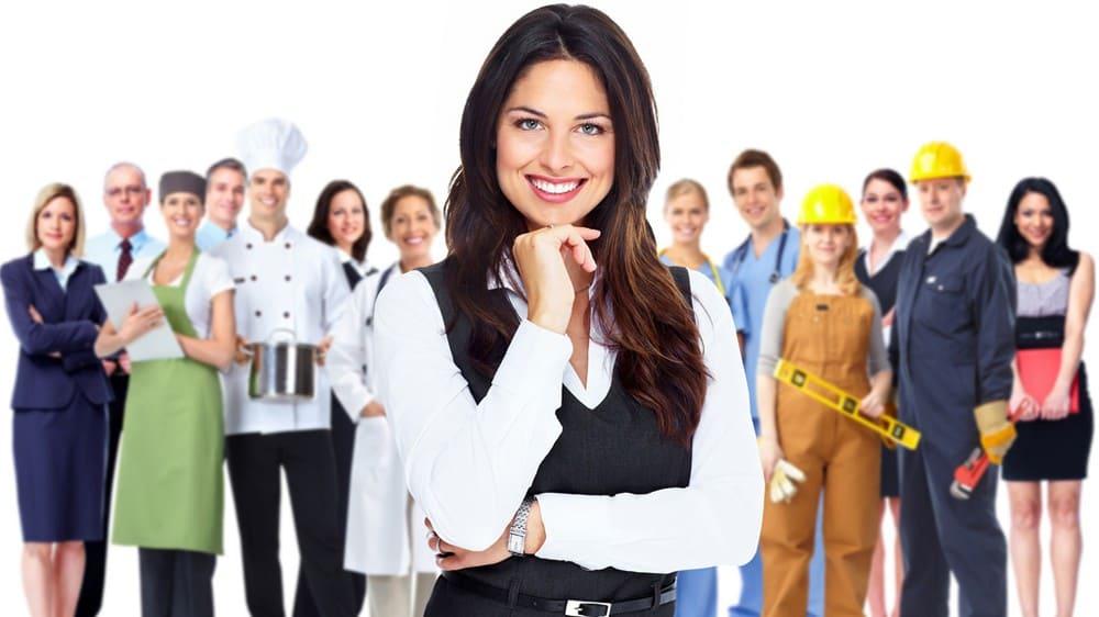 Профессии для женщин