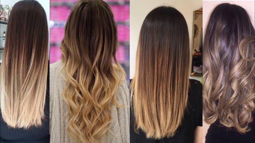 Разные виды мелирования волос