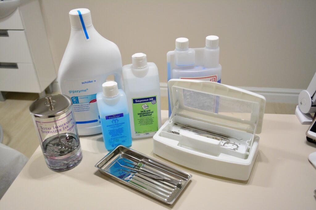 Антисептики для медицинского кабинета