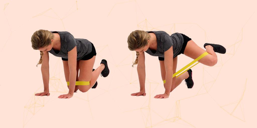 Лучшие упражнения с фитнес-резинкой