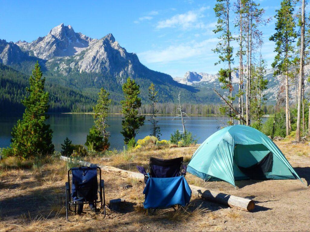 Отпуск с палаткой