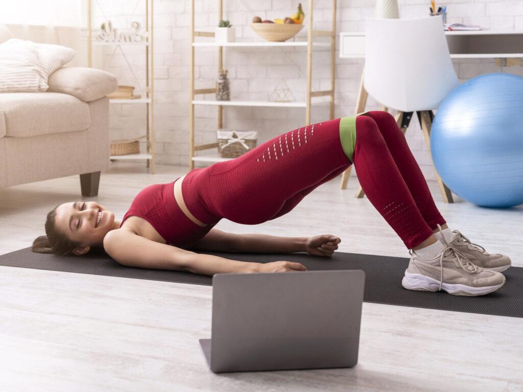 Применение фитнес-резинок