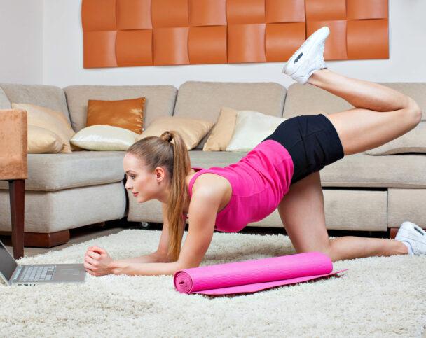 Домашние тренировки для тонкой талии