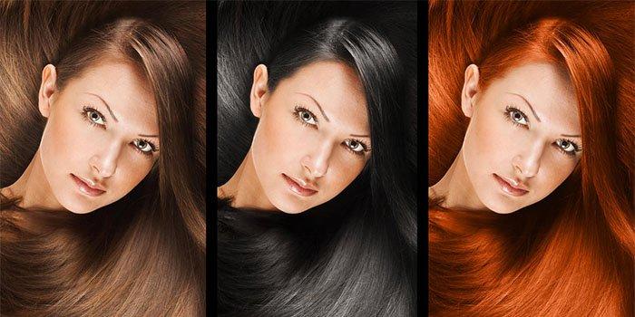 подходящий оттенок волос по цвету глаз