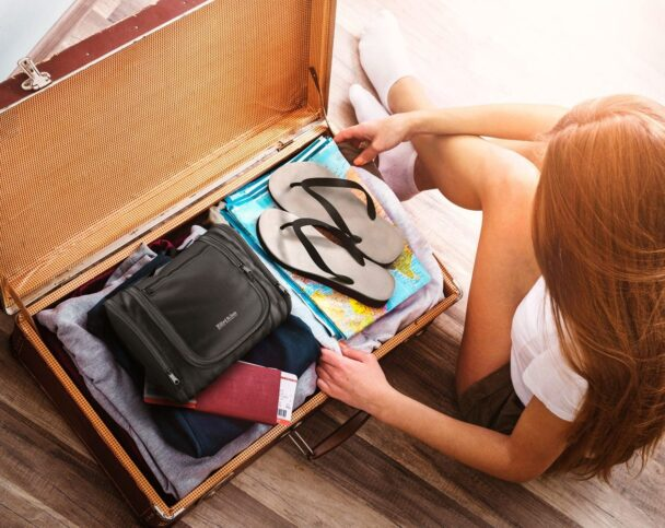 Сбор чемодана для путешествия