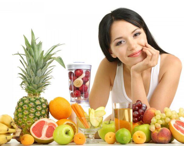 Влияние продуктов на кожу лица