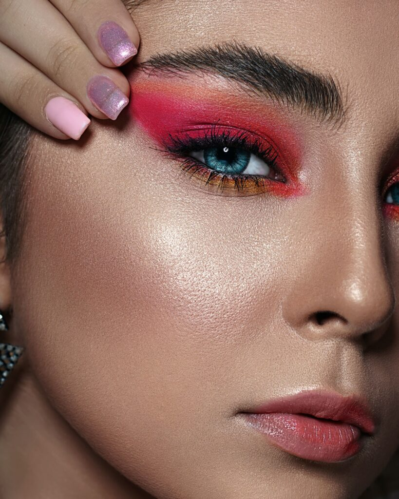 вечерний макияж 2021